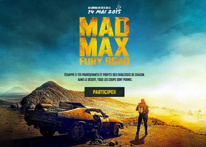 Mad Max Pursuit - Connected Social Experiment