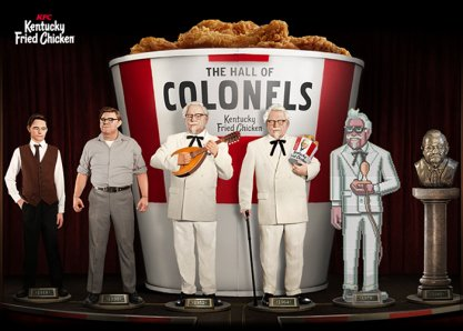 KFC: The Hall of Colonels