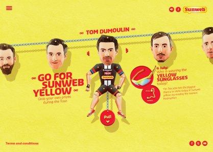 Go For Sunweb Yellow