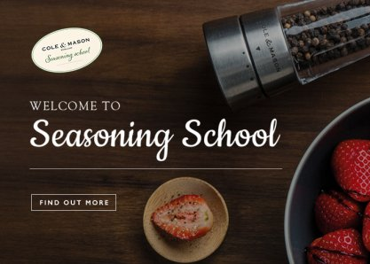 Seasoning School