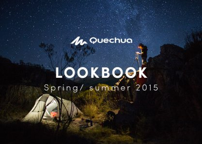 Quechua Lookbook Spring Summer 15