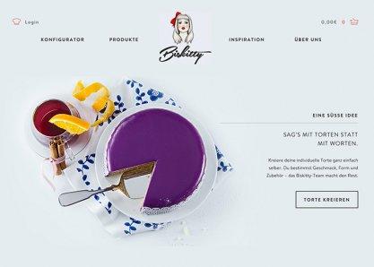 Biskitty - Cake Configurator