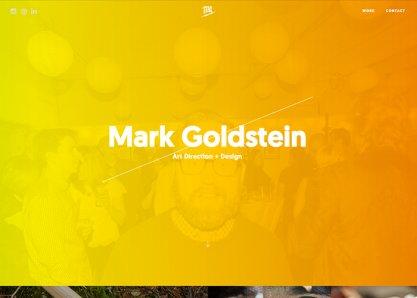 Mark Goldstein, Art Direction & Design