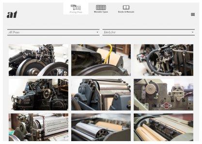 Archivio Tipografico | Letterpress