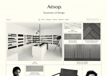 Aesop - Taxonomy of Design