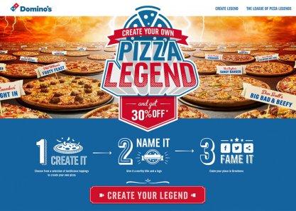 Domino's Pizza Legends