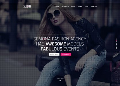 Fashion Semona - Creative Template