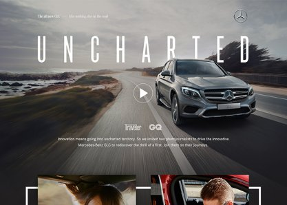 Mercedes-Benz GLC Uncharted