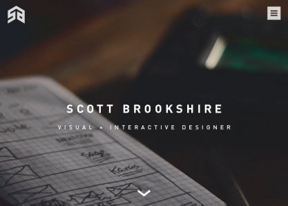 Scott Brookshire Portfolio Site