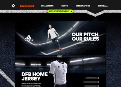 adidas / 11TS / DFB Jersey / WebGL Special