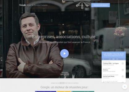 Google - Moteur de Réussites Françaises