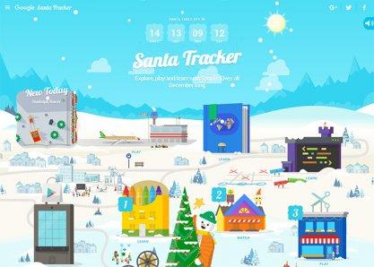 Google Santa Tracker 2015