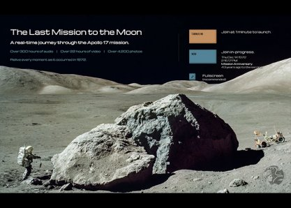Apollo 17 in Real-time