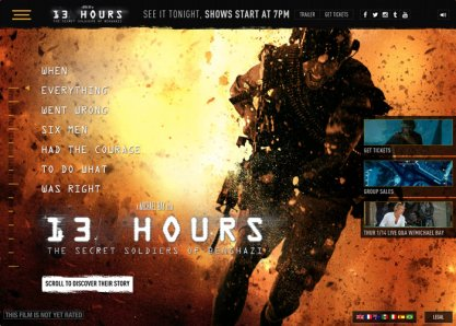 13 Hours: Official Site