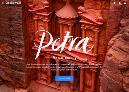 Petra in StreetView