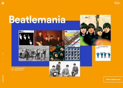 Beatles on Spotify