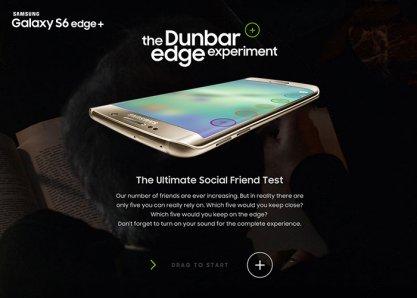 The Dunbar Edge Experiment