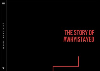 The Story Behind #WhyIStayed