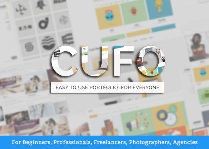 Cufo - Wordpress Portfolio Theme