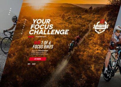 Focus Bikes: Your Focus Challenge
