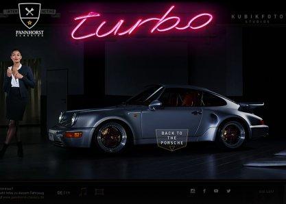 Interactive Porsche 964
