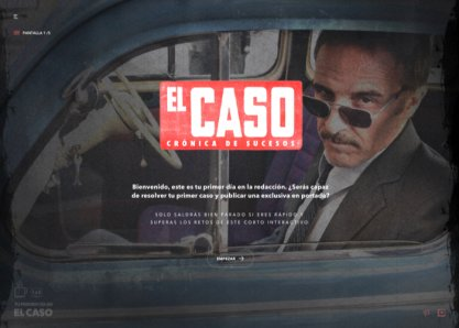El Caso - Interactive Short Film
