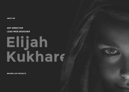 Elijah Kukharev - Web Design & Art Direction