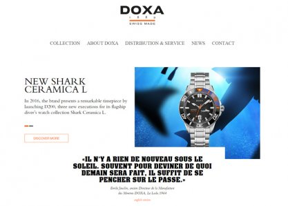 Official DOXA Website