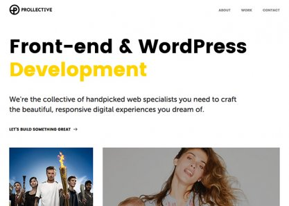 Prollective - Front-end & WordPress Development
