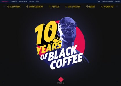 10 Years of Black Coffee