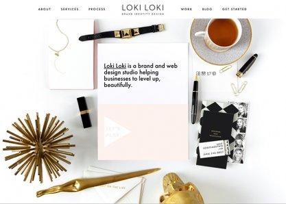 Loki Loki | Brand Identity Design
