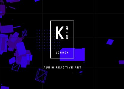 Arkade London / Audio Reactive Art