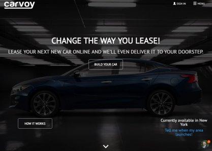 Carvoy.com - new way to lease a car