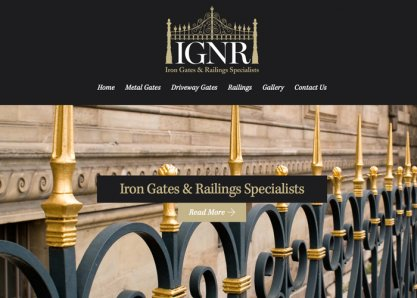 IGNR Driveway Gates