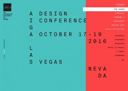 AIGA Design Conference