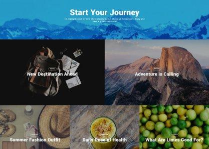 Mira - A Photo Stories Wordpress Theme