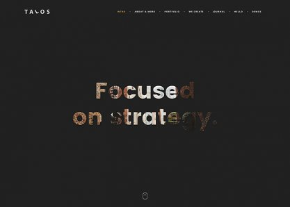 Talos / creative multipurpose html template