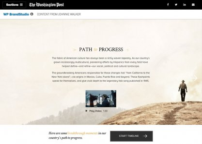 Path To Progress – WP BrandStudio – Johnnie Walker