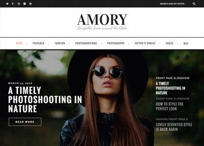 Amory - A Blog