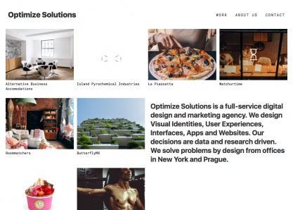 Optimize Solutions
