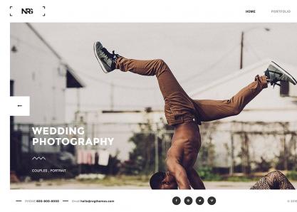 NRGPhotography WordPress Theme