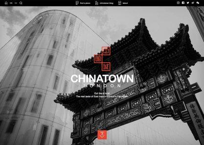 Chinatown London Website
