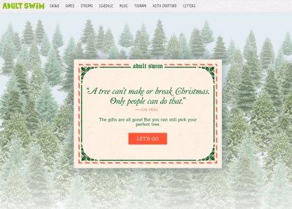 Joe Pera's Perfect Tree Finder