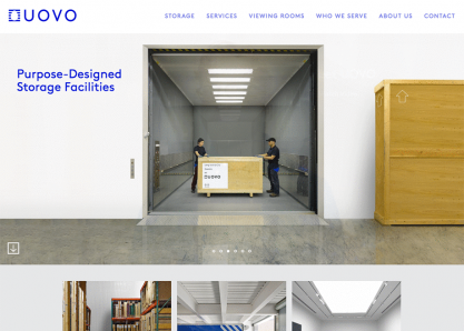 UOVO. Innovating Art Storage.