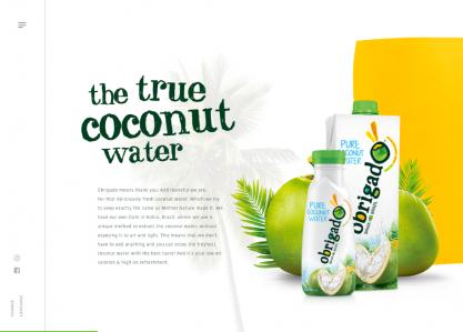 Obrigado Coconut Water