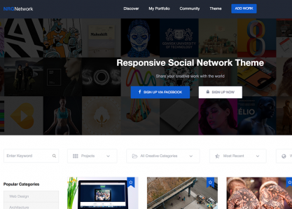 NRGNetwork WordPress Theme