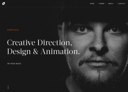 Nick Boes: Creative Portfolio