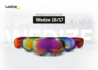 Wed'ze - Goggles collection