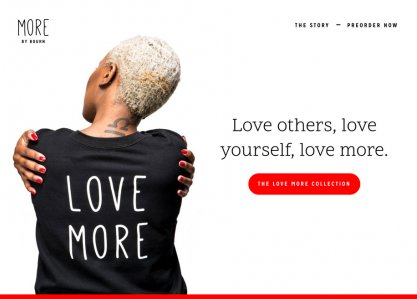 MORE by Bourn: Love More