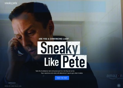 Sneaky Like Pete Website